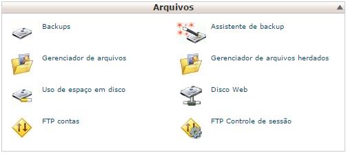 gerenciador de arquivos