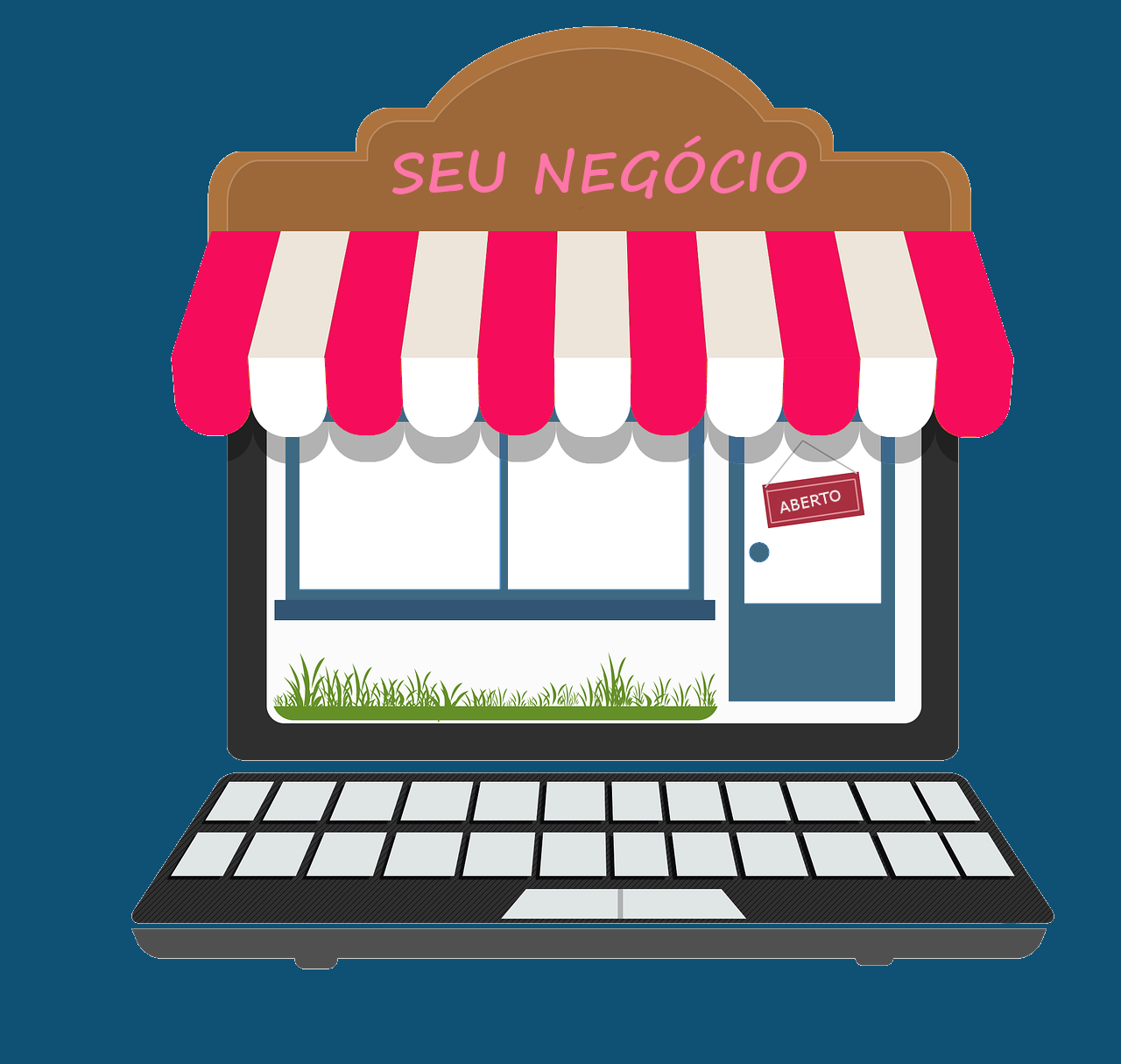 como montar um site de vendas
