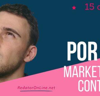 por que fazer marketing de conteúdo